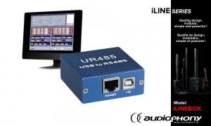 AUDIOPHONY iLINEBOX Converter mit DSP-Software