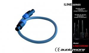 AUDIOPHONY iLINECORD60 Speakon Verbindungskabel