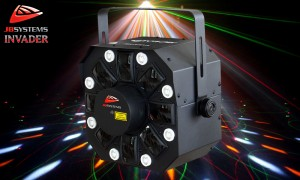 JB SYSTEMS INVADER Multi Laser/LED-Lichteffekt