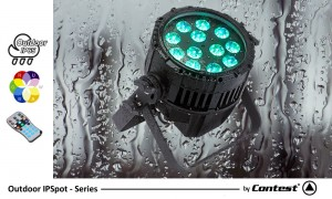 CONTEST IPSPOT12 SIX Outdoor LED-Scheinwerfer 145W