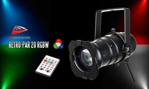 JB SYSTEMS RETRO-PAR20 RGBW