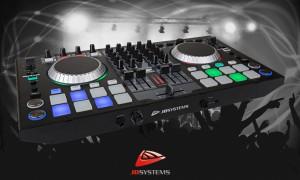 JB SYSTEMS DJ-KONTROL4 - 4-Kanal DJ-MIDI-Controller