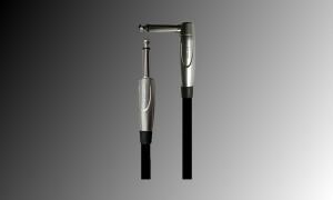 PROJECT Linien/Instrumentenkabel Jack/Jack gewinkelt - 5m