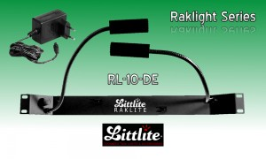 LITTLITE RAKLITE RL-10-DE Dual Rackbeleuchtung 5W Quartzlampe mit Dimmer