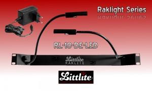 LITTLITE RAKLITE RL-10-DE-LED Dual Rackbeleuchtung mit Dimmer