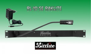 LITTLITE RAKLITE RL-10-SE Single Rackbeleuchtung 5W Quartzlampe mit Dimmer