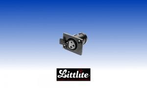 LITTLITE XLR-PS3 Einbaubuchse schwarz