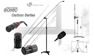 SONIC/JTS Carbon 170 Standmikrofon