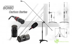 SONIC/JTS Carbon 62 Standmikrofon