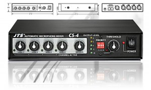 SONIC JTS-CS-4 Automatic Mixer