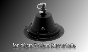 DISCOTEC Spiegelkugel-Motor für Durchmesser 40cm bis 50cm