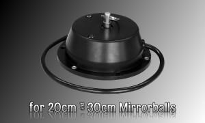 DISCOTEC Spiegelkugel-Motor für Durchmesser 20cm bis 30cm