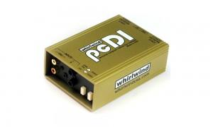 WHIRLWIND pcDI Passive Stereo DI-Box