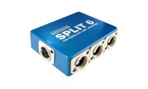 WHIRLWIND Split 6 Line Splitter-Box